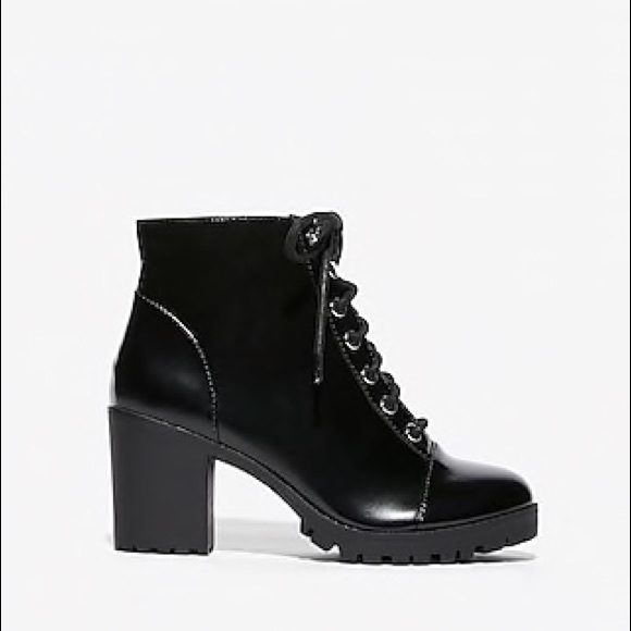 Express Shoes - Black Boots